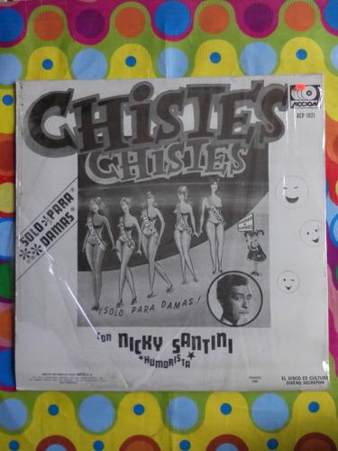 nicky santini lp chistes  solo para damas  1980 humorista.