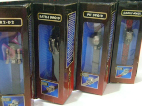 nico 4 relojes,droid,maul,r2 star wars (swi 39)