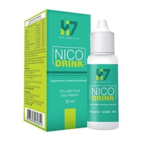Nico Drink - Anti-alcoolismo - Hm7 Suplemento - Frete Grátis