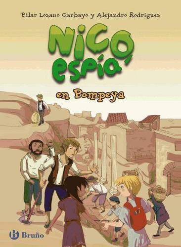 nico, espía, en pompeya(libro infantil)