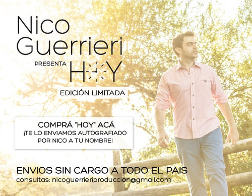 nico guerrieri- hoy (album completo)