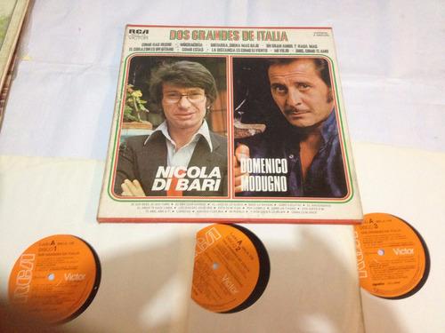 nicola di bari domenico  album 3 discos  edicion mexcana
