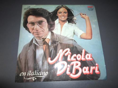 nicola di bari en italiano * disco de vinilo
