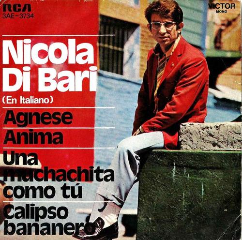 nicola di bari  en italiano           simple doble  con tapa