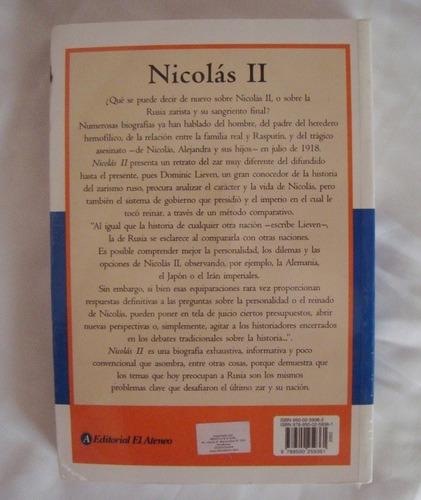 nicolas i i el ultimo zar dominic lieven