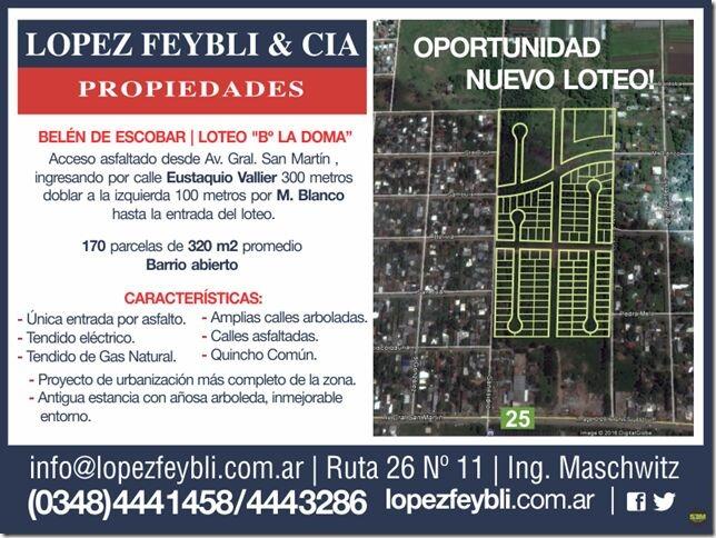 nicolás paladino 900 - escobar - terrenos/fracciones/loteos loteos - venta