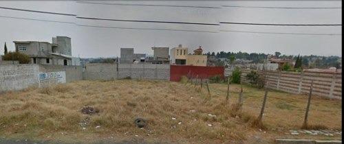 nicolas romero centro: terreno habitacional en venta, excelentes vías de acceso