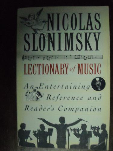 nicolas slonimsky lectionary of music