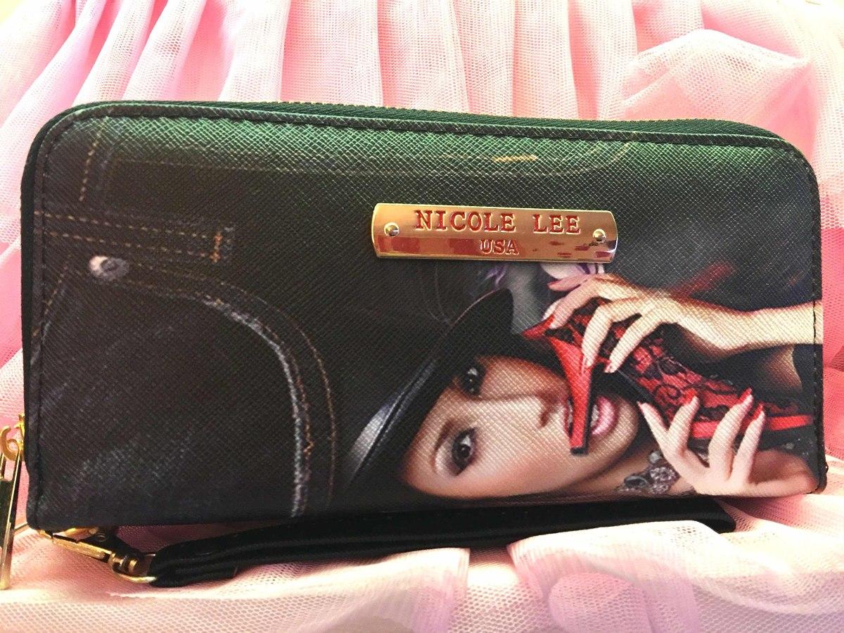 f8a139928 Nicole Lee Billetera Doble Con Cierre - Tono Negro - $ 950,00 en ...