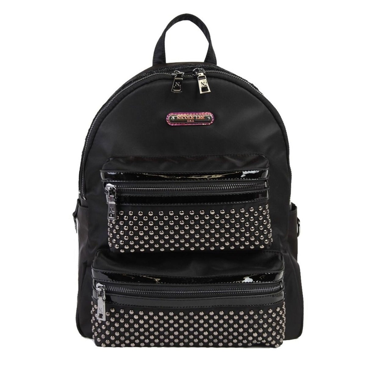 84916f335 Nicole Lee Cartera / Mochila Solid Studded Backpack - $ 5.690,00 en ...
