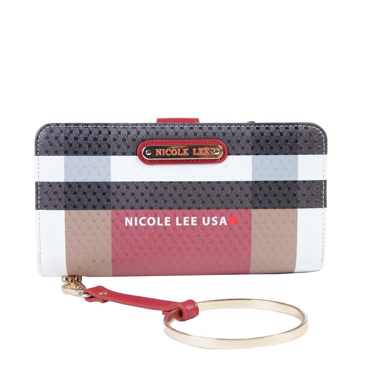 1d4a14772 Nicole Lee Original Billetera Stylish Check Wallet - $ 2.995,00 en ...