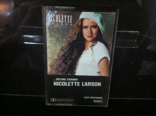 nicolette larson ¿decime cuando cassette ca4