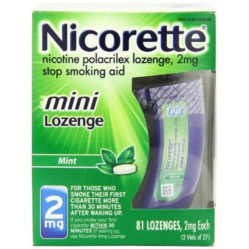 nicorette mini pastillas de nicotina mint 2 miligramos parar