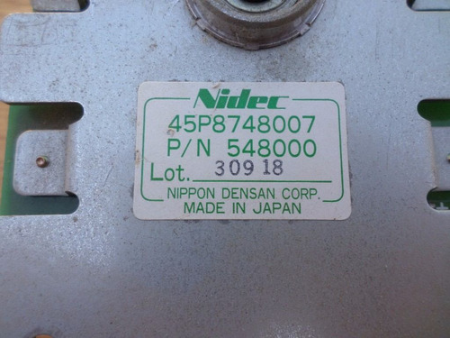 nidec-45p8748007 p\n548000 nippon densan corp