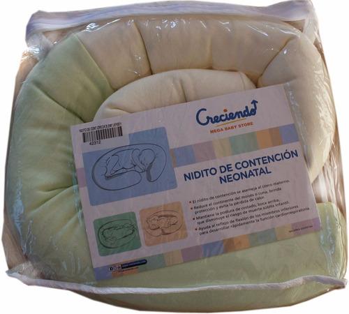 nido nidito de contención neonatal almohadita pediátrica