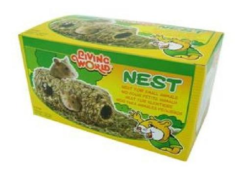 nido para hamster ratón mediano grande roedor
