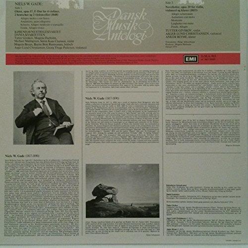 niels w. gade: octeto de cuerda en fa ma. op. 17 para 4 viol