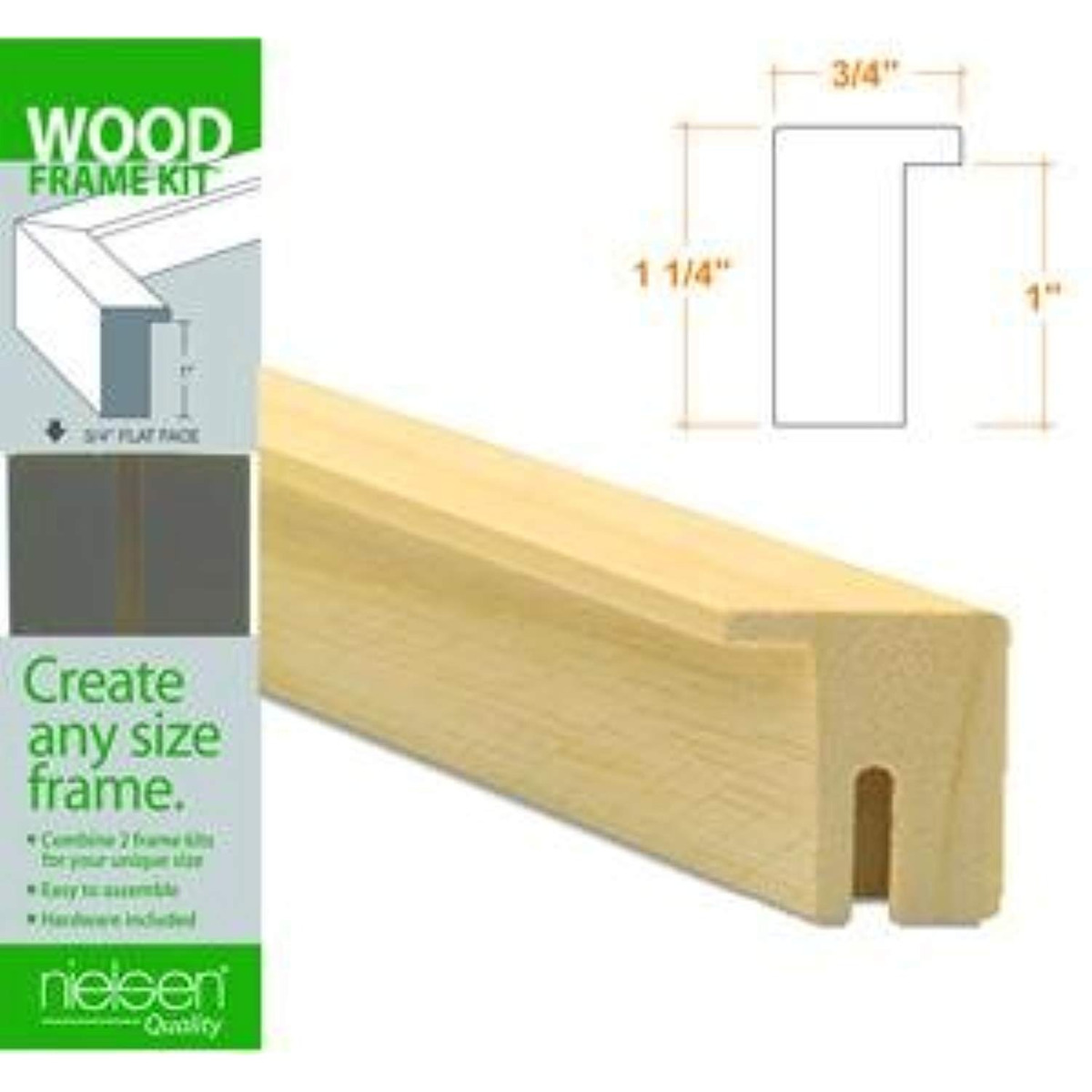 Nielsen Bainbridge Wood Frame Kits Natural 11 In