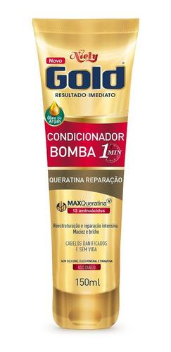 niely gold condicionador bomba queratina