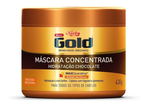 niely gold mascara concentrada chocolate