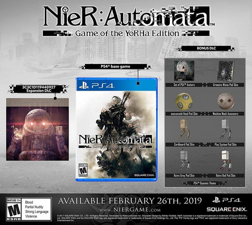 nier automata game of the yorha edition playstation 4