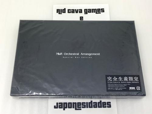nier orchestral arrangement special box edition japan