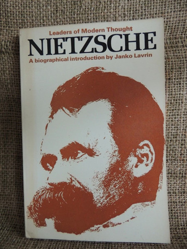 nietzsche  a biographical introduction  janko lavrin 1971
