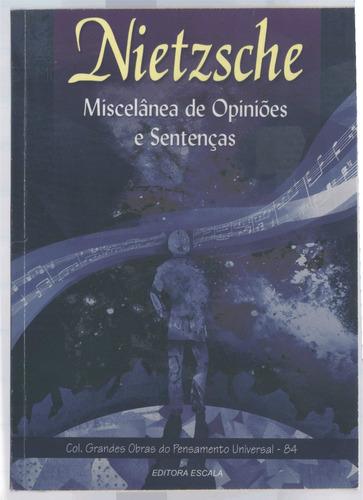 nietzsche - miscelânea de opiniões e sentenças