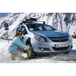 nieve auto cadena