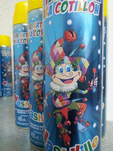 nieve espuma aerosol carnaval fiestas eventos