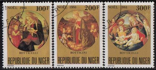 níger - natal - 1981 - s/completa