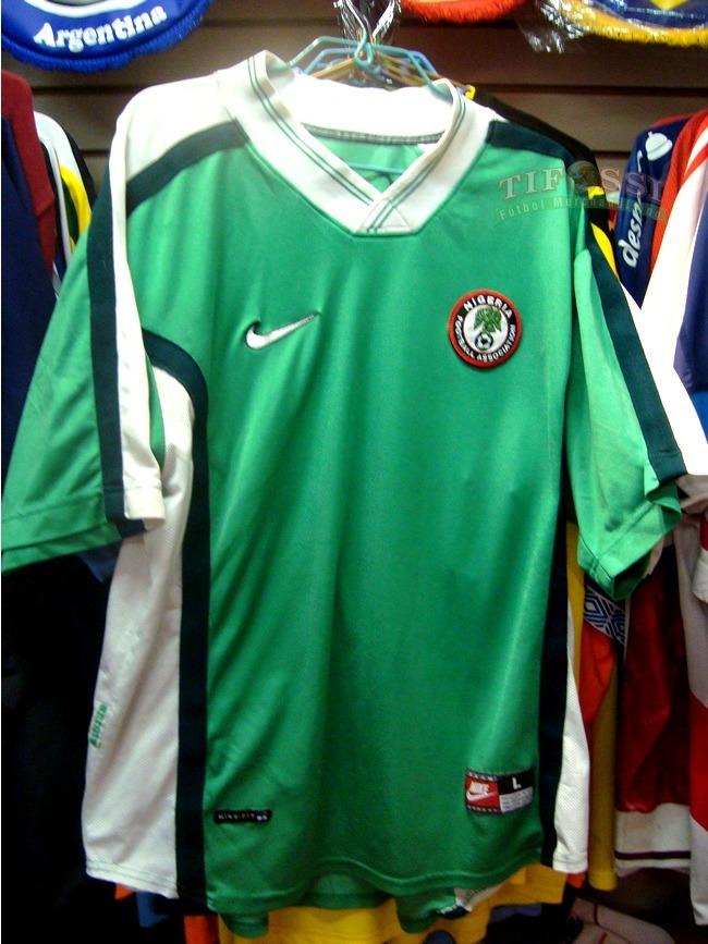 f007b4a03e Nigeria Nike - 1994 - Titular - Tifossi -   25.000 en Mercado Libre