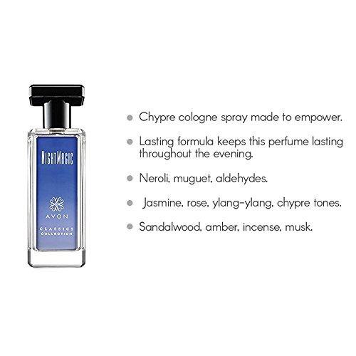 night magic cologne spray 17 fl oz
