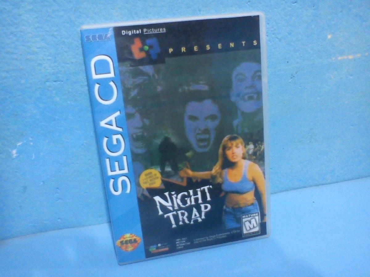 Night Trap 2 Discos Sega Cd Americano E Tec Toy Patch Xyz11