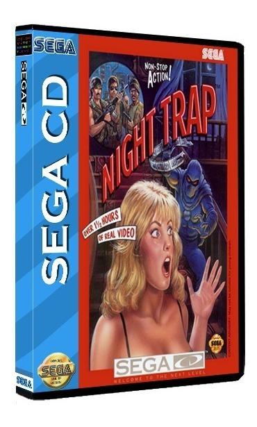 Night Trap (2cds) Sega Cd Rom