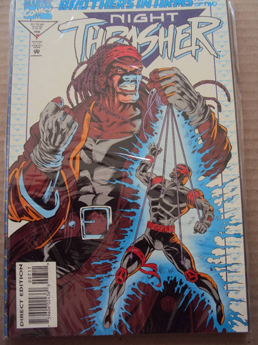 night trasher # 07 - marvel comics - importada