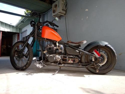 nighthawk cb250 bobber