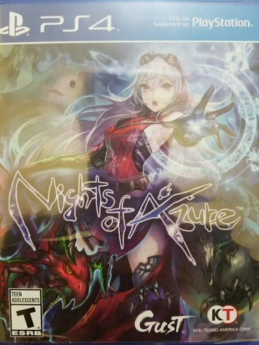nights of azure ps4 nuevo sellado delivery stock ya