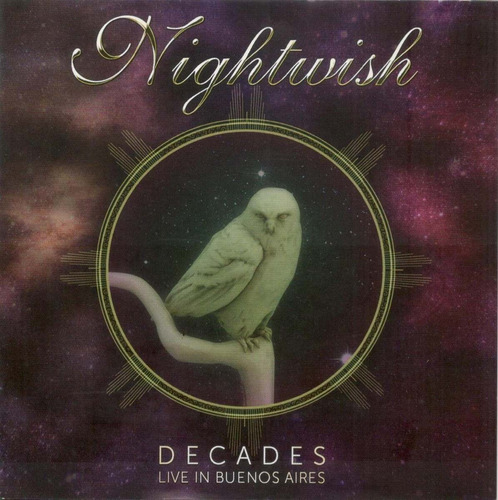 nightwish decades: live in buenos aires cd x 2 nuevo