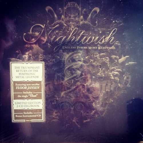 nightwish endless forms most beautiful 2 cds digibook