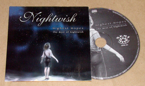 nightwish highest hopes the best of nightwish cd argentino