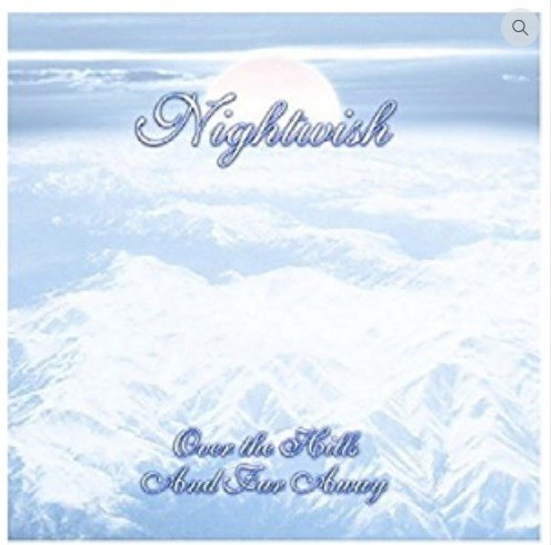 cd nightwish over the hills and far away
