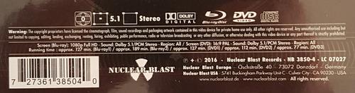 nightwish - vehicle of spirit [2cd+3dvd+2blu-ray] - earbook