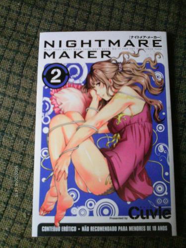 nigthmare maker n.01 e 02 manga erotico-sampa