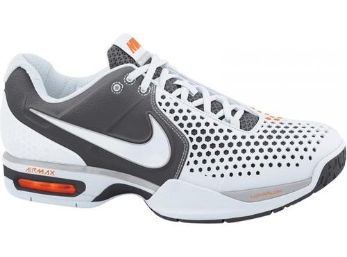 nike mens air max courtballistec 3.3 white grey red ssn336