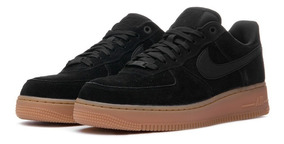 air force 1 negras con suela marron