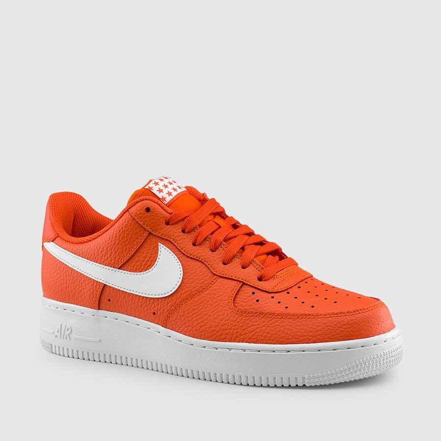 6719c826 nike air force 1 07 team orange white originales tienda usa. Cargando zoom.