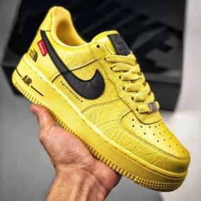 nike air force 1 mujer amarilla