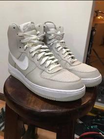 Zapatillas Libre Alta Bota Plateado En Nike Mercado n08mwvN