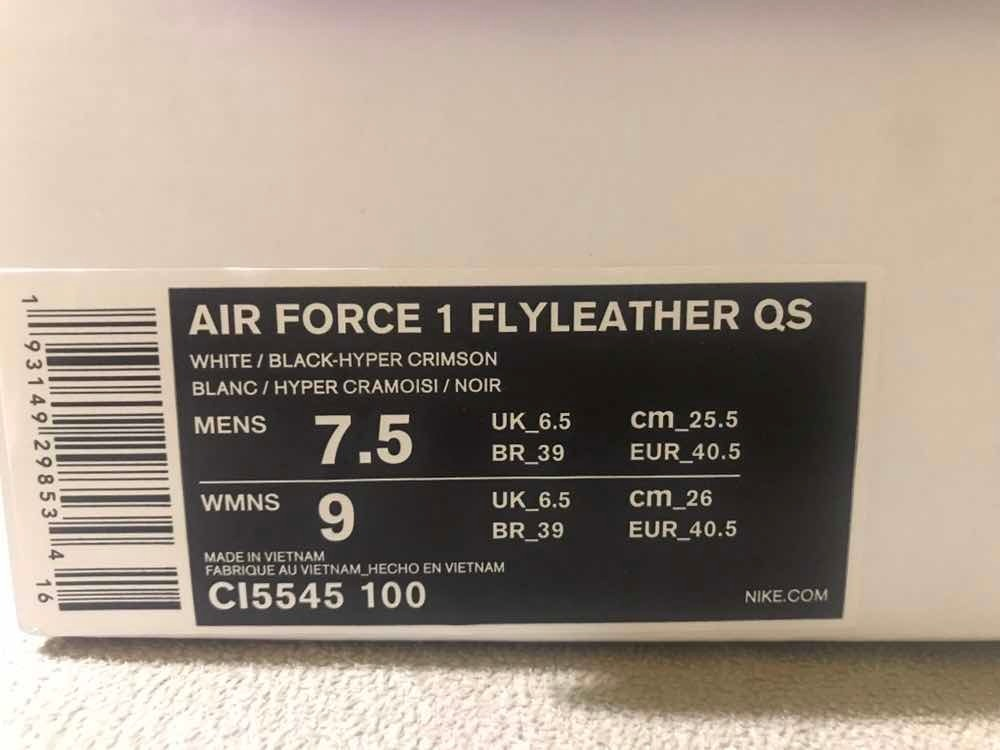 a41b3ed132 Nike Air Force 1 Flyleather Qs